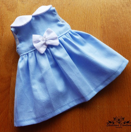 Платье для куклы Paola Reina и Gotz ручной работы на заказ