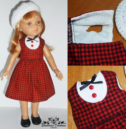 Комплект для куклы Paola Reina ручной работы на заказ