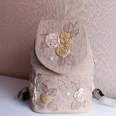 Рюкзак женский текстильный Вальс осени