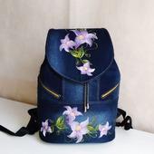 Рюкзак джинсовый женский Лилии