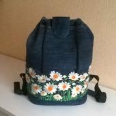 Рюкзак джинсовый Летняя рапсодия