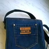 Сумка джинсовая мужская Casual