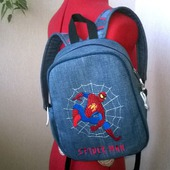Рюкзак джинсовый детский Spiderman