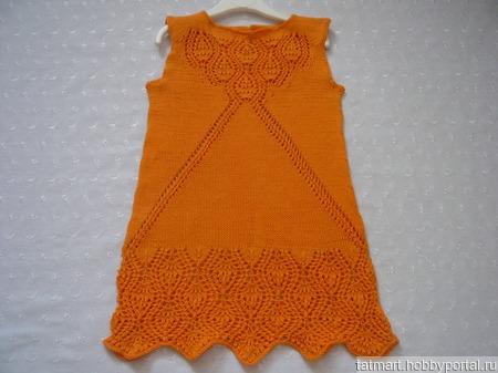 Платье для девочки Margo ручной работы на заказ