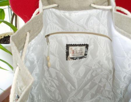 """Рюкзак - торба """"Лоскутный переполох"""" ручной работы на заказ"""