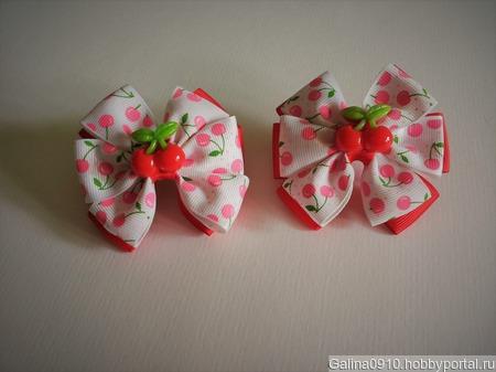 Бантики для девочки ручной работы на заказ