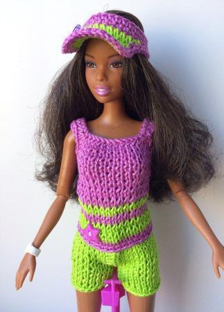 Одежда для Барби №59 ручной работы на заказ