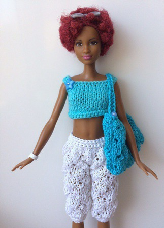 Одежда для Барби №58 ручной работы на заказ