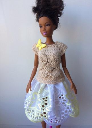 Одежда для Барби №56 ручной работы на заказ