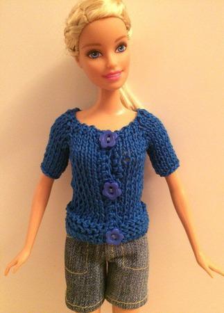 Одежда для Барби №42 ручной работы на заказ