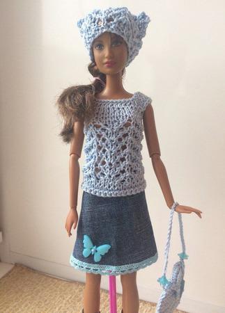 Одежда для Барби №38 ручной работы на заказ