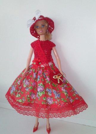 Одежда для Барби №34 ручной работы на заказ