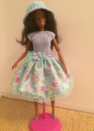 Одежда для Барби №27 ручной работы на заказ