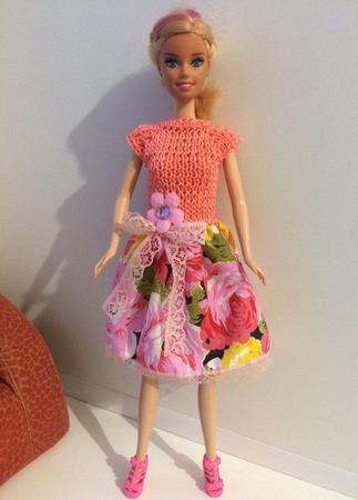 Одежда для Барби №25 ручной работы на заказ