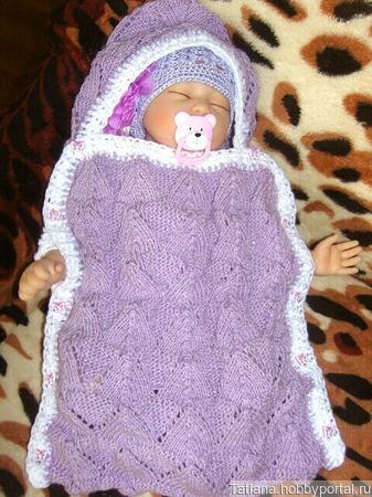 Комплект для новорожденной ручной работы на заказ