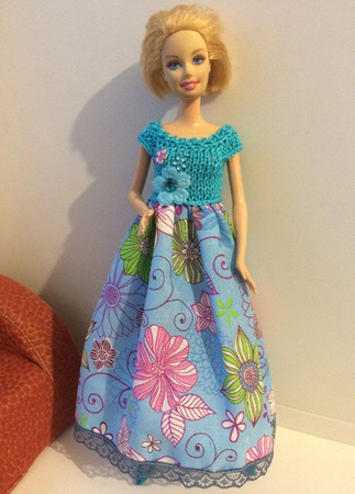 Одежда для Барби №21 ручной работы на заказ