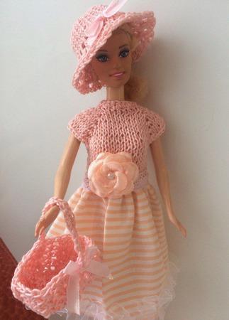 Одежда для Барби №18 ручной работы на заказ