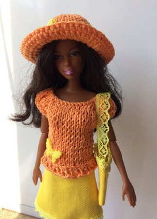 Одежда для Барби №17 ручной работы на заказ