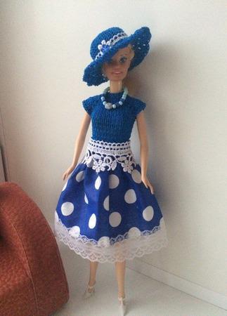 Одежда для Барби №15 ручной работы на заказ