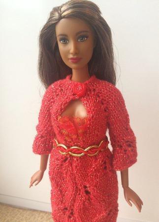 Одежда для Барби №8 ручной работы на заказ