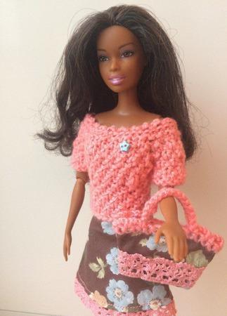 Одежда для Барби №6 ручной работы на заказ