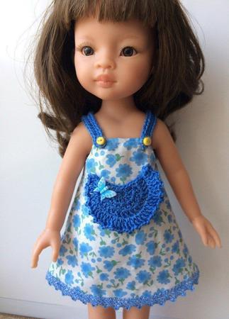 Одежда для кукол Паола Рейна №5 ручной работы на заказ