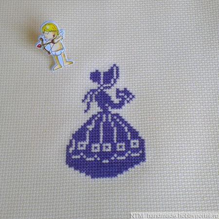 Заготовки. вышивка Девушка ручной работы на заказ