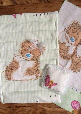 Постель для куклы №1 ручной работы на заказ