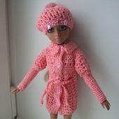Верхняя одежда ажур для куколки мокси тинз