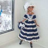 """Комплект одежды """"Морячка"""" для куколки мокси тинз"""