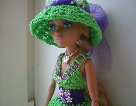"""Комплект одежды """"Лето"""" для куколки мокси тинз ручной работы на заказ"""