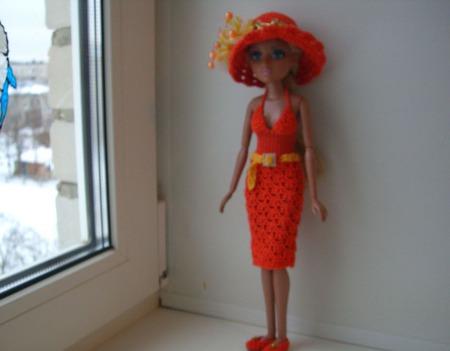 """Комплект одежды """"Летний шик"""" для куколки мокси тинз ручной работы на заказ"""
