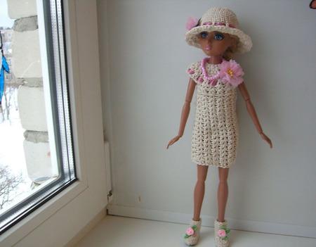 """Комплект одежды """"Коктель"""" для куколки мокси тинз ручной работы на заказ"""