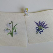 Заготовки. вышивка Цветы