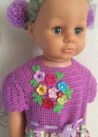 Летнее платье для девочки №10 ручной работы на заказ