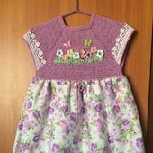 Летнее платье для девочки №4
