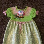 Летнее платье для девочки №6