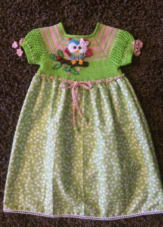 Летнее платье для девочки №6 ручной работы на заказ