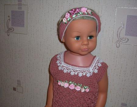 Летнее платье для девочки №7 ручной работы на заказ
