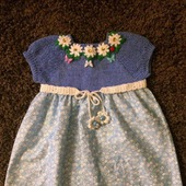 Летнее платье для девочки №9