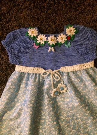 Летнее платье для девочки №9 ручной работы на заказ