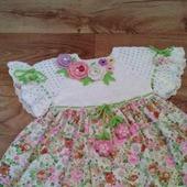 Летнее платье для девочки №5