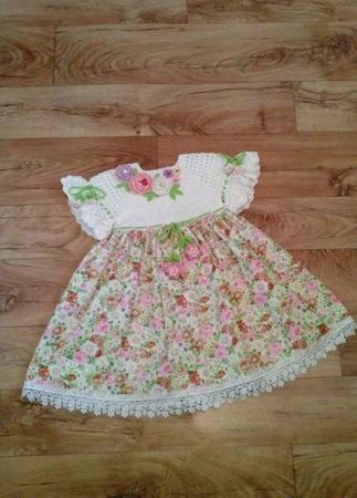 Летнее платье для девочки №5 ручной работы на заказ
