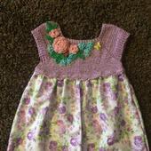 Летнее платье для девочки №3