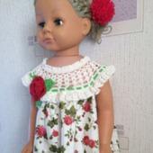 Летнее платье для девочки №1