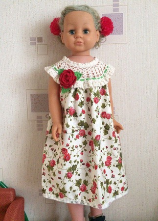 Летнее платье для девочки №1 ручной работы на заказ