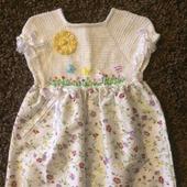 Летнее платье для девочки №8