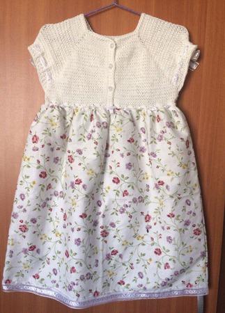 Летнее платье для девочки №8 ручной работы на заказ