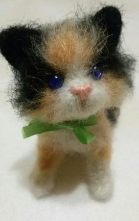 Вязаный котик ручной работы на заказ