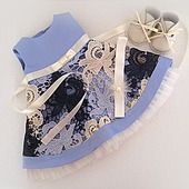 Нарядный комплект одежды для куклы Бэби Борн